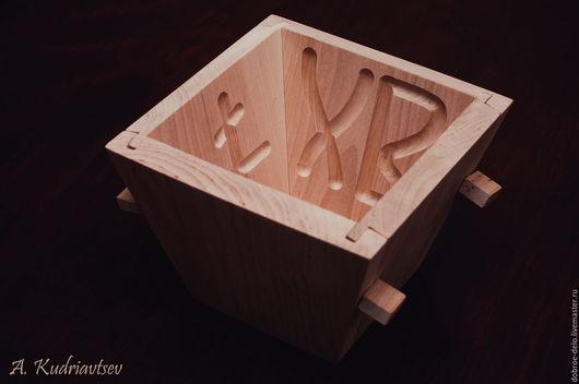 Подарки на Пасху ручной работы. Ярмарка Мастеров - ручная работа. Купить Деревянная форма для творожной пасхи (пасочница). Handmade. Бежевый