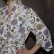 Одежда ручной работы. Ярмарка Мастеров - ручная работа Халат-рубашка. Handmade.