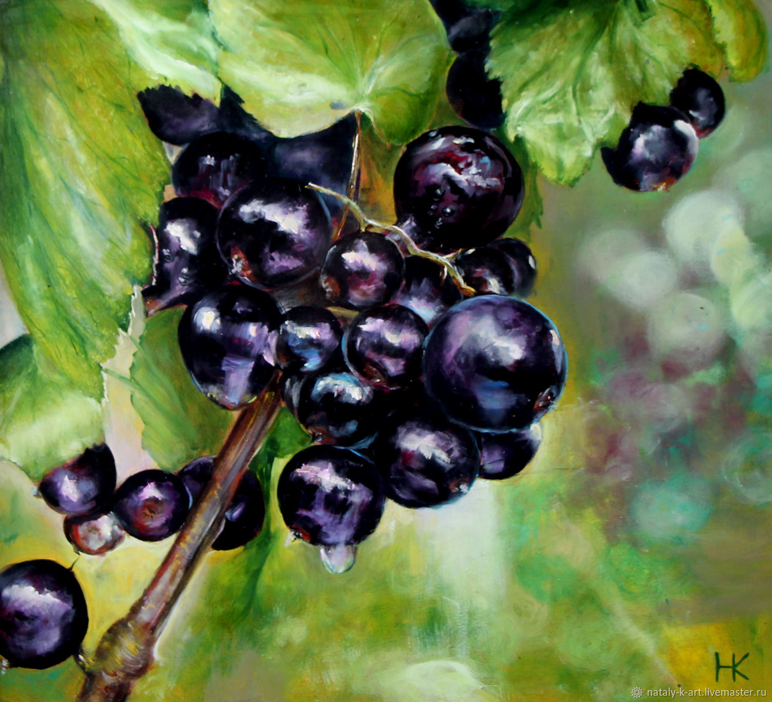 Paintings: black currant, Pictures, Voronezh,  Фото №1