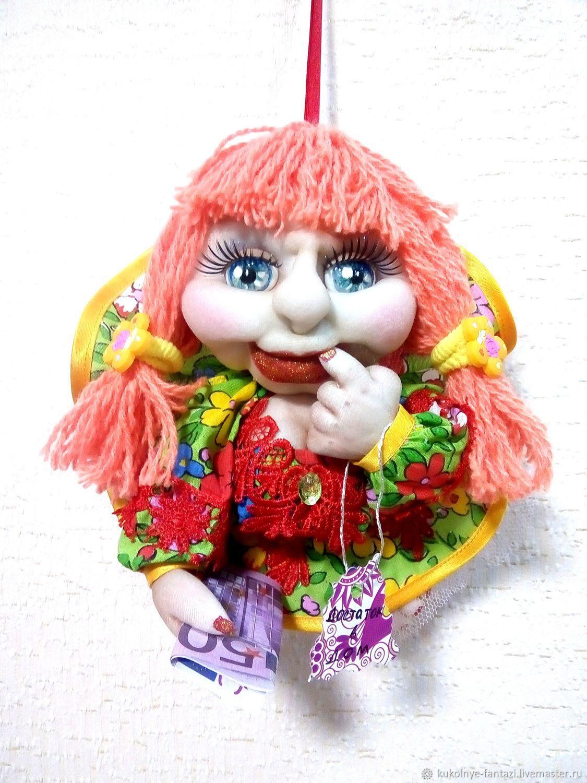 Кукла - попик на удачу, Портретная кукла, Новотроицк,  Фото №1