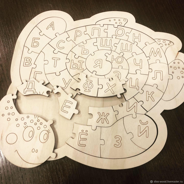ABC-puzzles, Stuffed Toys, Nizhny Novgorod,  Фото №1