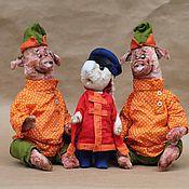 Куклы и игрушки ручной работы. Ярмарка Мастеров - ручная работа -Вы чего смеетесь-то? Надо мною?. Handmade.