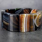 Украшения handmade. Livemaster - original item Bracelet natural sardonyx / carnelian / carnelian. Handmade.