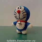 Куклы и игрушки ручной работы. Ярмарка Мастеров - ручная работа Doraemon амигуруми. Handmade.