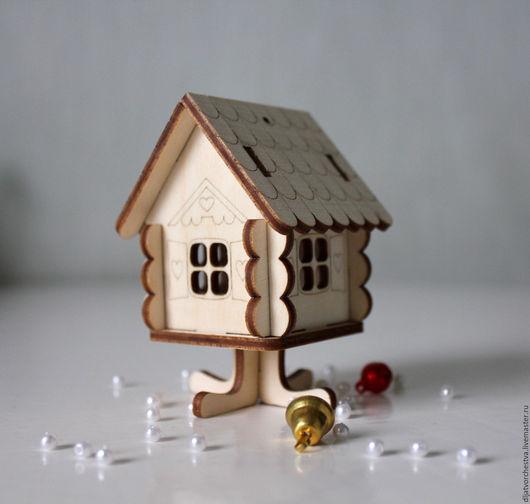 Кукольный дом ручной работы. Ярмарка Мастеров - ручная работа. Купить Игрушечный домик. Handmade. Дом, деревянный домик, игрушки