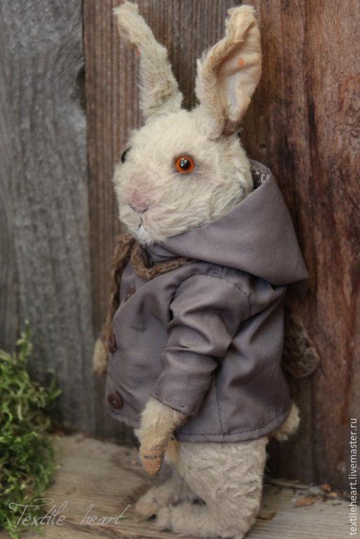 Мишки Тедди ручной работы. Ярмарка Мастеров - ручная работа. Купить Серый кролик. Handmade. Серый, заяц тедди, хлопок