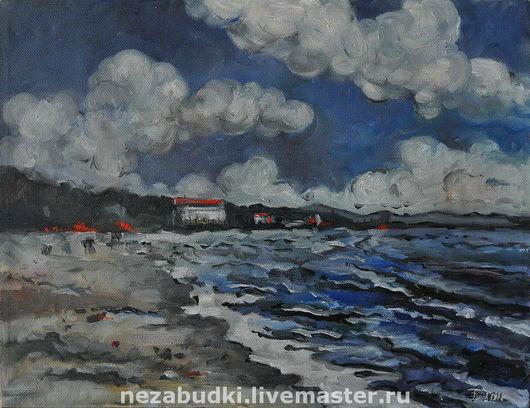Картина «Балтийский залив». Авторские картины. «Forget-me-not» - живопись и реставрация.  Ярмарка Мастеров.