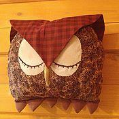 """Текстиль ручной работы. Ярмарка Мастеров - ручная работа сова-подушка-думка """"Сплюшка"""". Handmade."""