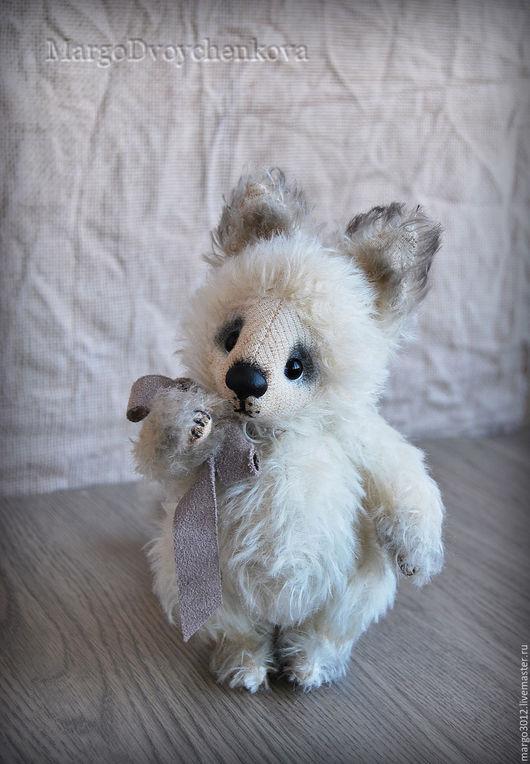 Мишки Тедди ручной работы. Ярмарка Мастеров - ручная работа. Купить Одуванчик. Handmade. Белый, тедди лиса, toy