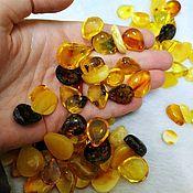 Материалы для творчества handmade. Livemaster - original item Amber cabochon, round cabochon, drop cabochon, square amber. Handmade.