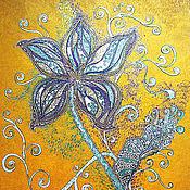Картины и панно ручной работы. Ярмарка Мастеров - ручная работа Цветочный сон. Handmade.