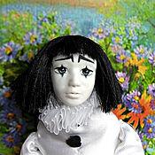 Куклы и игрушки ручной работы. Ярмарка Мастеров - ручная работа Кукла Пьеро. Handmade.