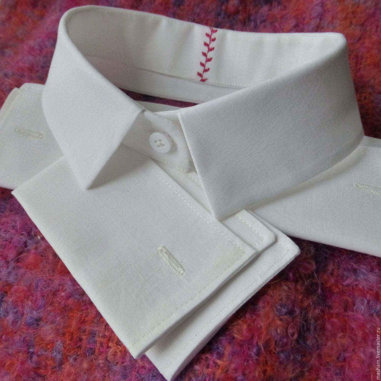 Воротник для рубашки своими руками