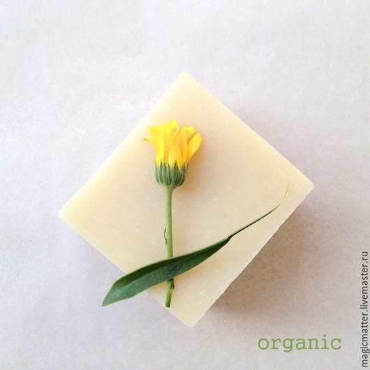 АНГЕЛ детское органическое мыло с календулой и ромашкой