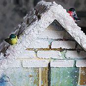 """Для дома и интерьера ручной работы. Ярмарка Мастеров - ручная работа Подарок на новый год """"Зимнее волшебство"""". Handmade."""