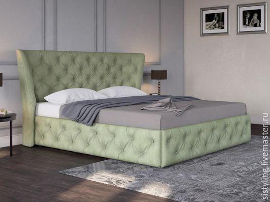 Мебель ручной работы. Ярмарка Мастеров - ручная работа. Купить кровать. Handmade. Комбинированный, массив берёзы