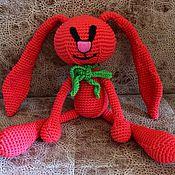 Куклы и игрушки ручной работы. Ярмарка Мастеров - ручная работа Игрушка Сплюша-Зайчик. Handmade.