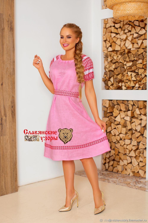 Linen dress Girlish dreams, Dresses, St. Petersburg,  Фото №1