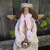 Куклы и игрушки ручной работы. Ярмарка Мастеров - ручная работа Тася. Феечка в стиле БОХО. Handmade.