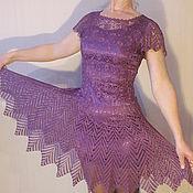 Одежда ручной работы. Ярмарка Мастеров - ручная работа Эксклюзивное вязаное платье. Handmade.