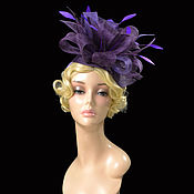 Аксессуары handmade. Livemaster - original item hats: blueberry DESSERT. Handmade.