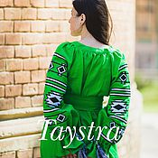 Одежда handmade. Livemaster - original item Dress boho embroidered style, Bohemian, ethnic. Handmade.