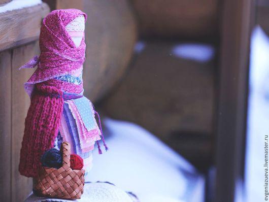 """Народные куклы ручной работы. Ярмарка Мастеров - ручная работа. Купить Невеста """"Морозное утро"""" для Светланы. Handmade. Народная кукла"""