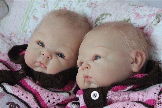 Куклы-младенцы и reborn ручной работы. Ярмарка Мастеров - ручная работа. Купить Близняшки Пэрис. Handmade. Кукла реборн, винил