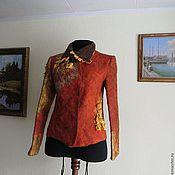 """Одежда ручной работы. Ярмарка Мастеров - ручная работа куртка """" Рыжая"""". Handmade."""