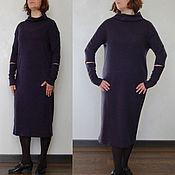 Одежда ручной работы. Ярмарка Мастеров - ручная работа Шерстяное платье Барм в стиле бохо. Handmade.