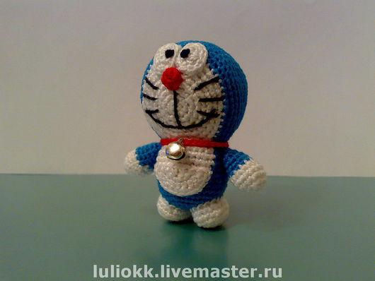 Миниатюра ручной работы. Ярмарка Мастеров - ручная работа. Купить Doraemon амигуруми. Handmade. Амигуруми, игрушка, япония, аниме