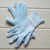 Аксессуары handmade. Livemaster - original item Silk gloves Mother of Dragons blue fashion stars film. Handmade.