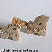 Русский стиль ручной работы. Ярмарка Мастеров - ручная работа Конь резной. Handmade.