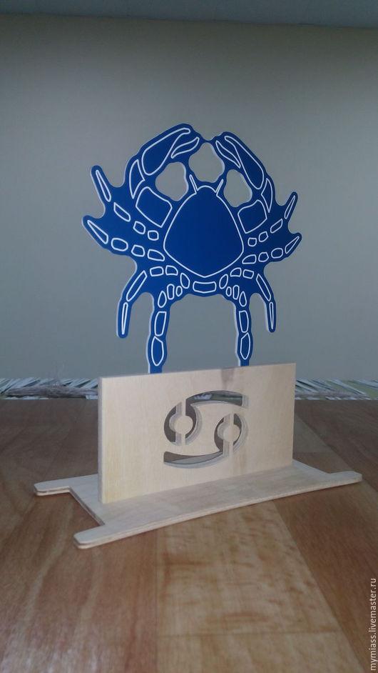 Персональные подарки ручной работы. Ярмарка Мастеров - ручная работа. Купить Знаки зодиака. Handmade. Синий, пластик