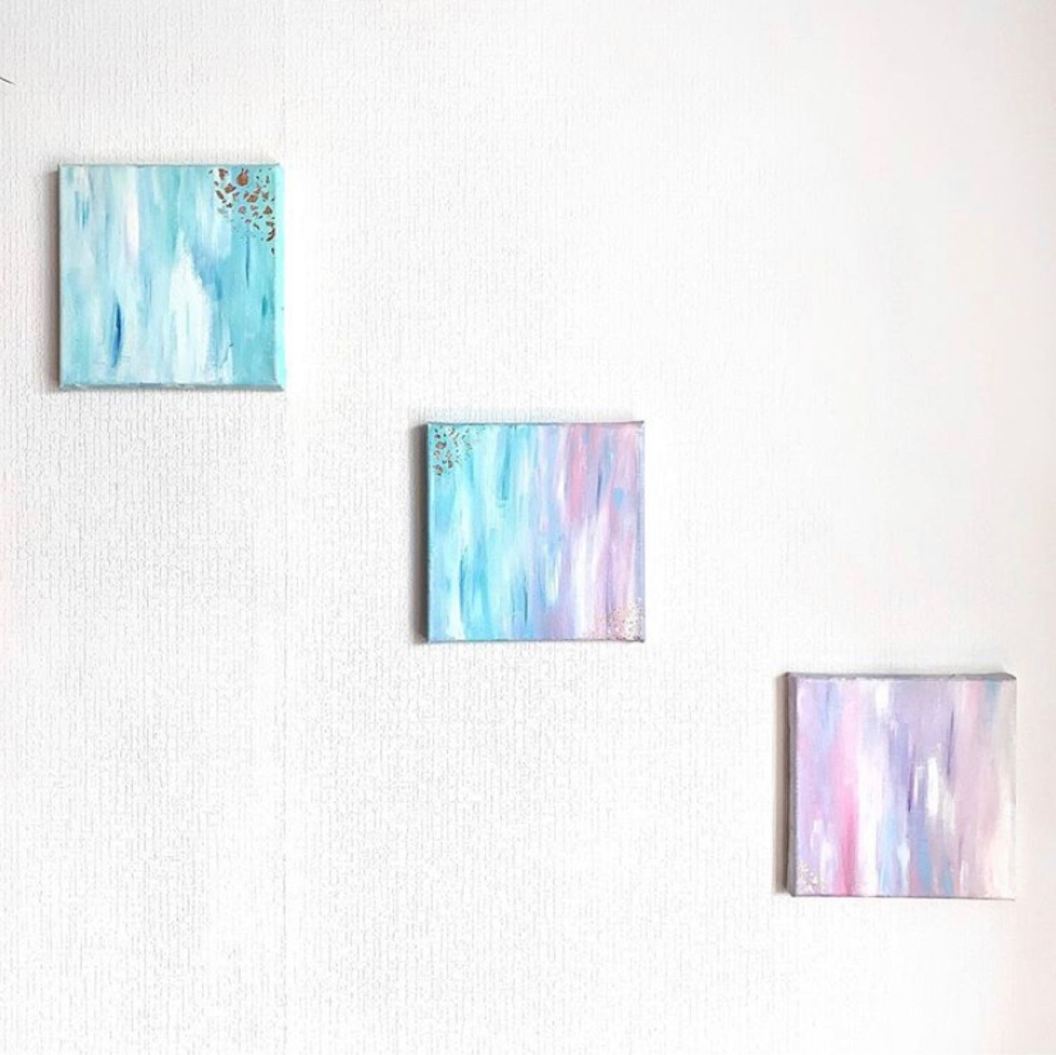 Interior modular painting ' Shades of the sky». Handmade, Pictures, Moscow,  Фото №1