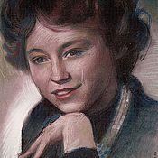 Картины и панно ручной работы. Ярмарка Мастеров - ручная работа портрет мамы. Handmade.