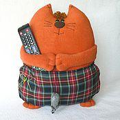 Куклы и игрушки ручной работы. Ярмарка Мастеров - ручная работа Кот с карманом. Handmade.