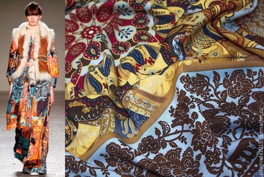 Шитье ручной работы. Ярмарка Мастеров - ручная работа. Купить 15% скидка Твил вискоза 3 цвета Итальянские ткани. Handmade.