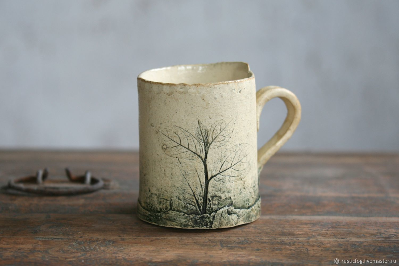 Mug ceramic Rustic Fog, Mugs and cups, Moscow,  Фото №1