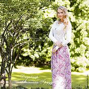 """Одежда ручной работы. Ярмарка Мастеров - ручная работа """"Магия Женской Красоты"""" юбка из батиста. Handmade."""