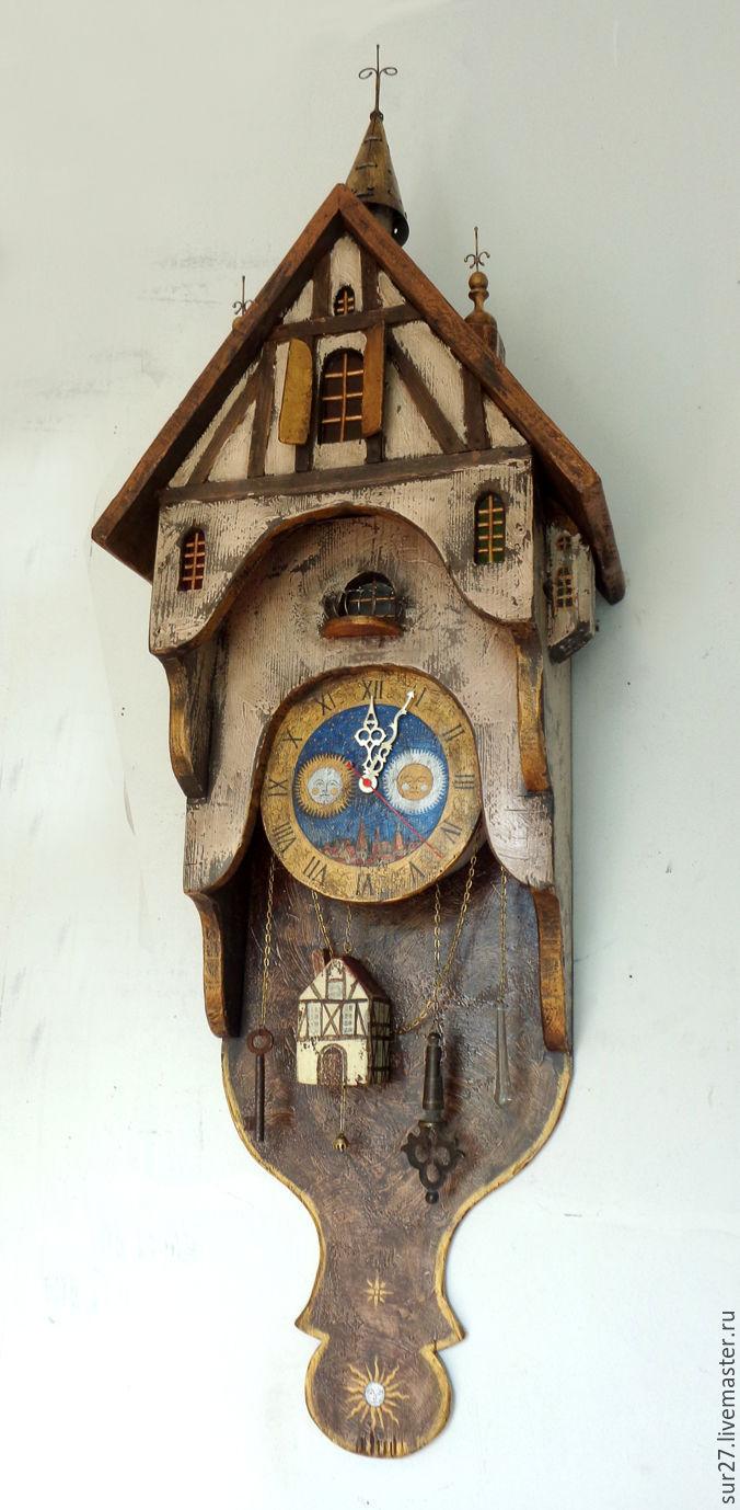 Часы со шпилем, Часы классические, Мытищи,  Фото №1