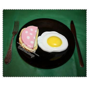 """Косметика ручной работы. Ярмарка Мастеров - ручная работа Набор мыла""""Завтрак холостяка"""". Handmade."""