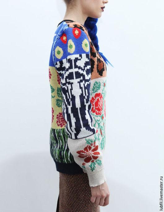 Кофты и свитера ручной работы. Ярмарка Мастеров - ручная работа. Купить Ералаш. Handmade. Комбинированный, свитер
