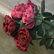 Цветы и флористика handmade. Livemaster - original item A bouquet of roses from Tamarana. Handmade.