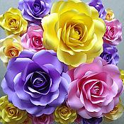 Свадебный салон ручной работы. Ярмарка Мастеров - ручная работа Бумажные розы 50см. Handmade.