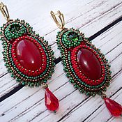 Украшения handmade. Livemaster - original item Earrings