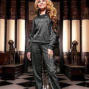 """Одежда ручной работы. Ярмарка Мастеров - ручная работа Костюм """"Nordic"""" черный. Handmade."""