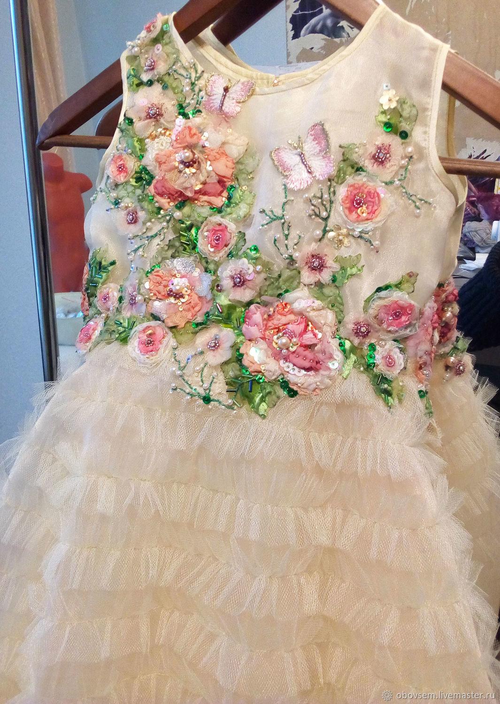 """Платье для девочки """"Розы"""""""