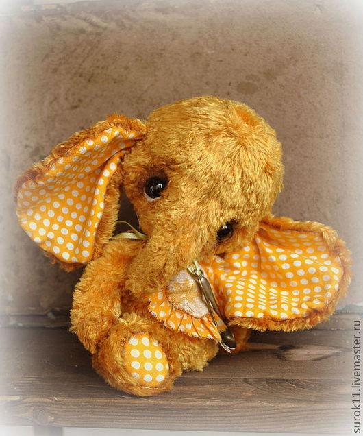 Мишки Тедди ручной работы. Ярмарка Мастеров - ручная работа. Купить Таша. Handmade. Оранжевый, друзья тедди, синтепух