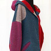 Одежда ручной работы. Ярмарка Мастеров - ручная работа Авангардус. Пальто-кокон с капюшоном. Handmade.